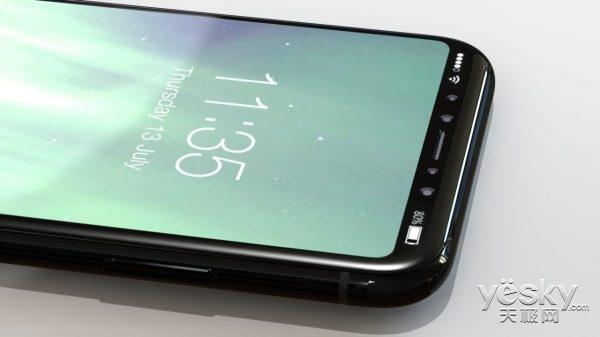 最终版苹果iPhone8渲染图曝光:就长这样?