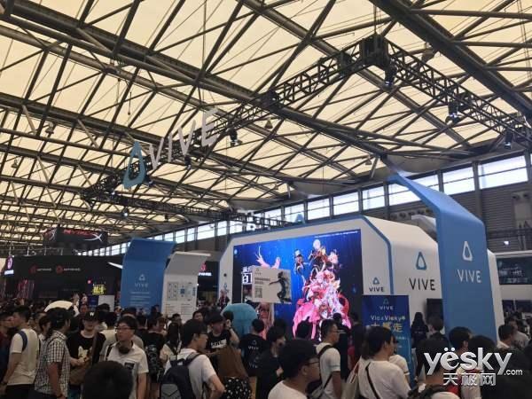 HTC Vive携游戏、硬件 引领VR泛娱乐潮流