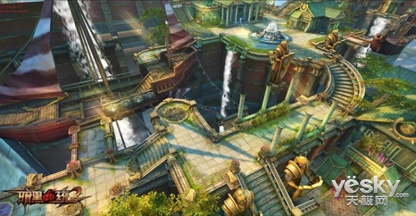 3D激爽ARPG手游大作《暗黑血统2》CJ发布