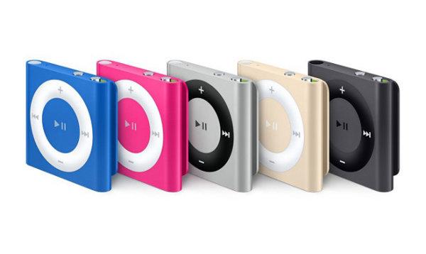 苹果停售iPod nano/shuffle 只保留Touch