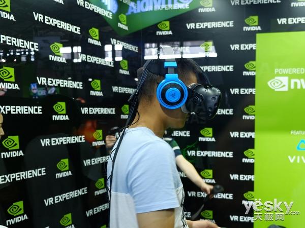 NVIDIA硬件厂家参加China Joy2017的硬方法