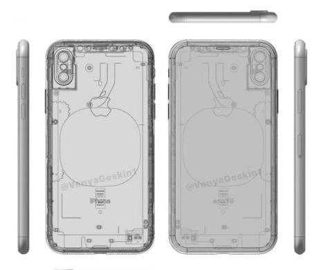 iPhone 8 X光图纸遭曝光 富士康公布其售价