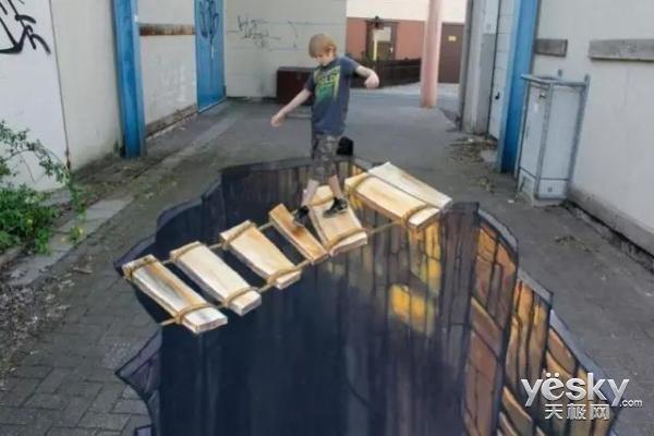 令人惊叹的街头彩绘,看到你移不开眼!