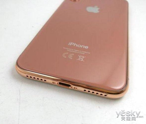 iPhone8新配色曝光 古铜色真机谍照很扎眼