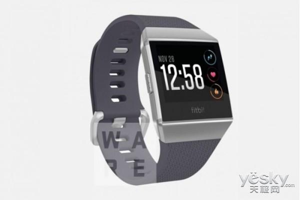 Fitbit智能手表渲染图曝光:支持心率传感器
