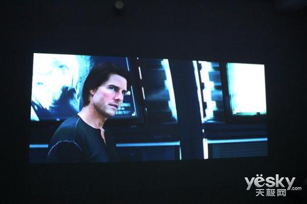 在家观看百寸大屏电视!看尚ican影院X1体验