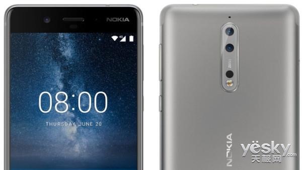 再次确认:诺基亚8将拥有双版本 已获认证