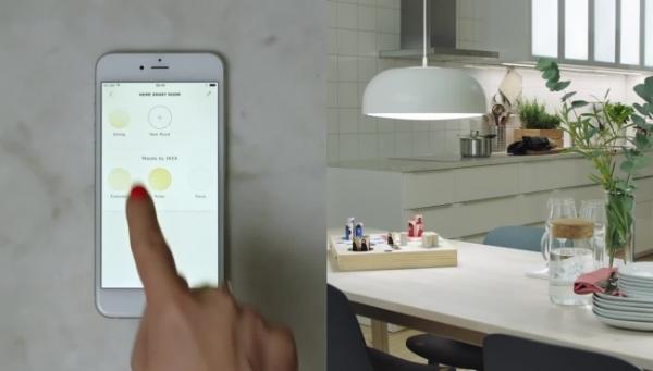 宜家智能照明系统兼容苹果Homekit平台