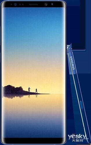 曝深海蓝版三星Galaxy Note 8渲染图:长这样