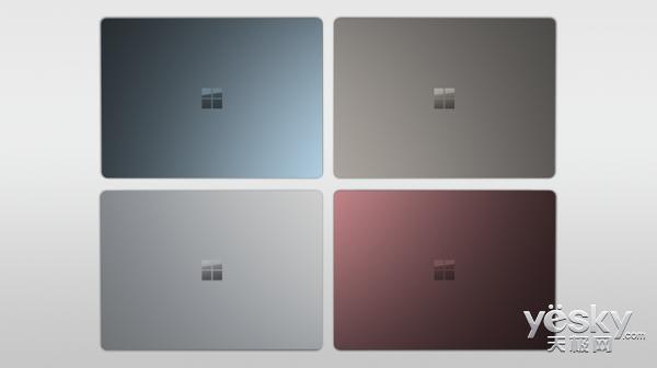 i7版Surface Laptop钴蓝/酒红新配色