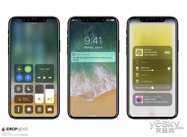 iOS 11透露:iPhone 8将使用True Tone屏幕