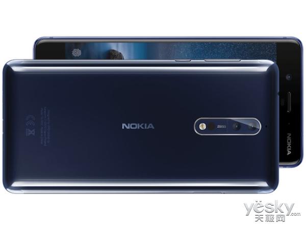 诺基亚8来了:率先搭载自家OZO音频技术