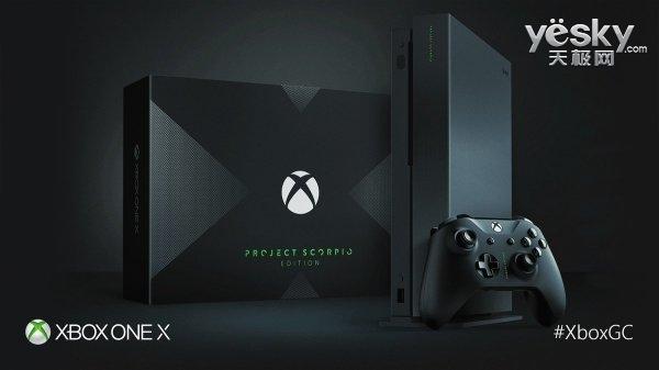 微软Xbox One X将于11月7日上市开卖 3330元