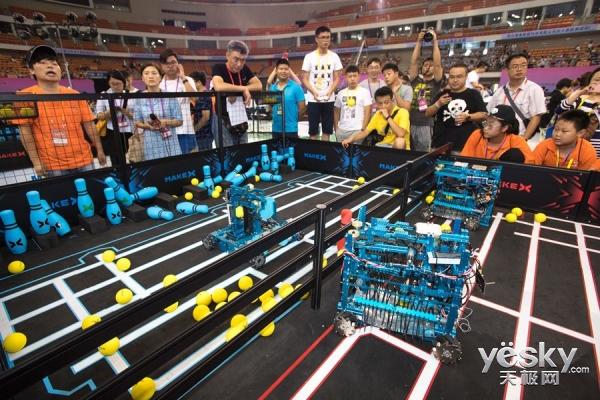 希望之光 2017机器人大会RoboCom少年挑战赛