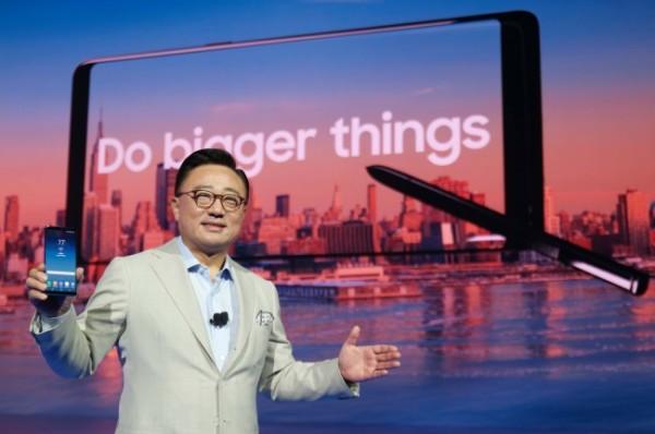 三星移动业务总裁解释Note8为何降电池容量?