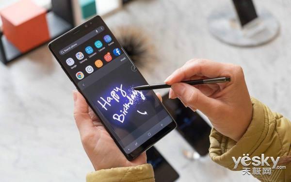 三星Galaxy Note8默认分辨率仅为全高清+