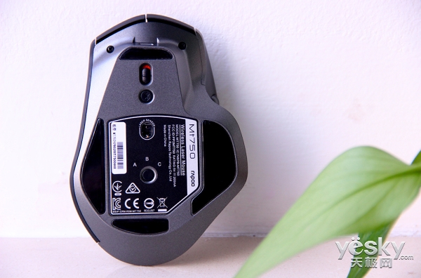 彪悍人生 雷柏MT750三模无线激光鼠标图集秀