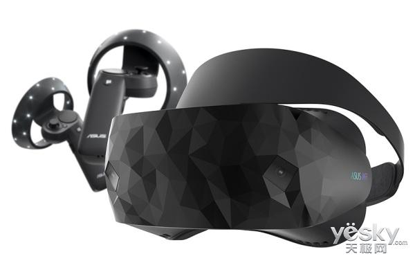 华硕发布Win10 MR头盔设备:售价3519元
