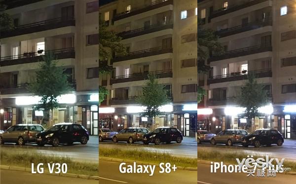 LG V30/三星S8+/i7 Plus拍照功能哪家强?