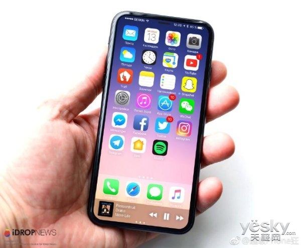 告别小屏时代 明年iPhone屏幕大小集体涨水