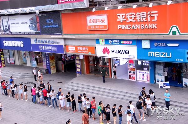 线下门店同步开售 魅蓝Note6首销场面回顾