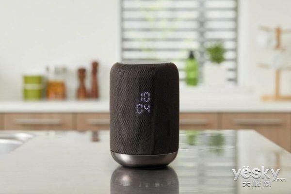 索尼智能音箱亮相 集成Google Assistant