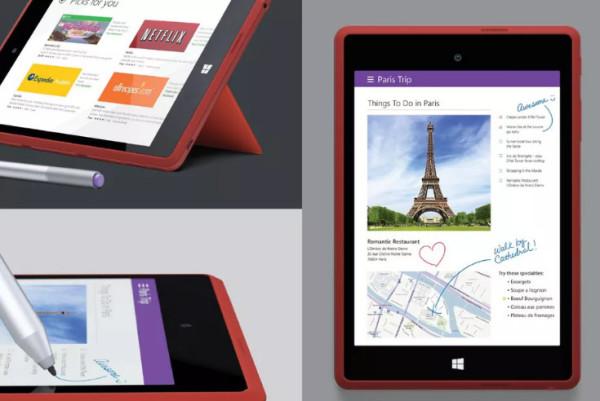 被微软砍掉的Surface Mini更多信息曝光
