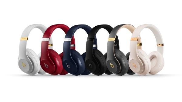 苹果发布Beats Studio 3无线耳机 续航40h
