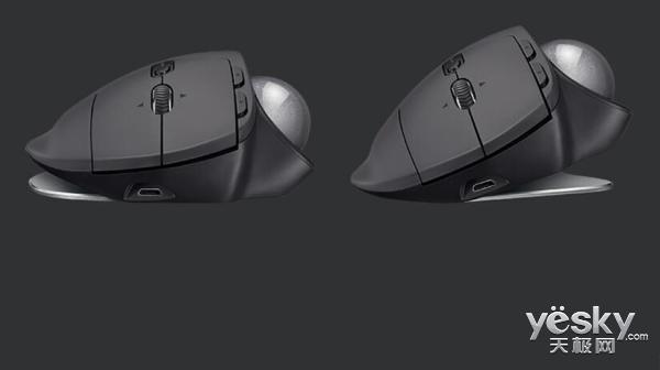 轨迹全掌控 罗技MX ERGO无线轨迹球发布