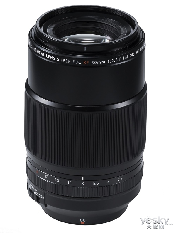 富士龙XF80mmF2.8中长焦微距镜头正式发布