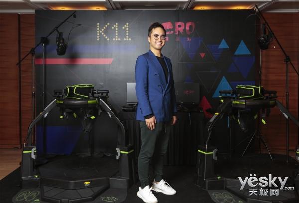 K11引领大势电竞潮流 打造科技商业生态��