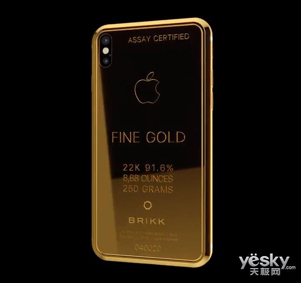你要的iPhone X 4.9万元土豪定制版开启预约