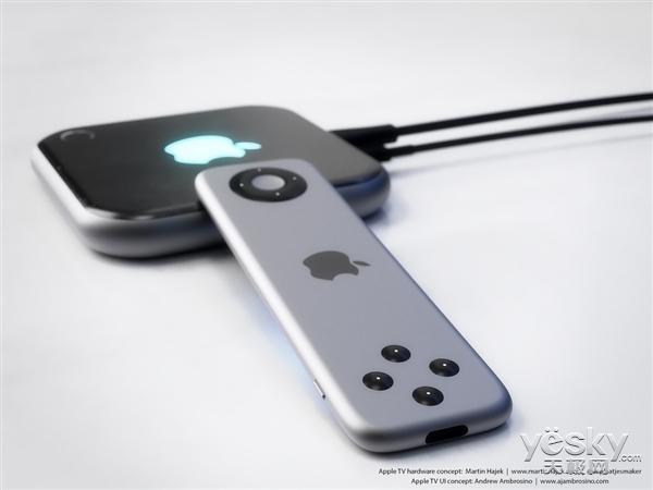iOS11固件:新AppleTV遥控器或支持震动反馈