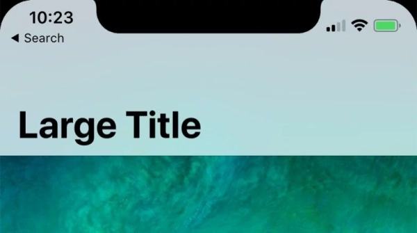 iPhone X状态栏默认不显示运营商名称