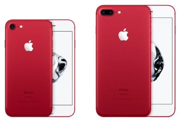 迎接iPhone 8/X iPhone 7红色特别版下架