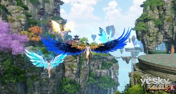 《仙侠世界2》飞天公测今日14时准时开启