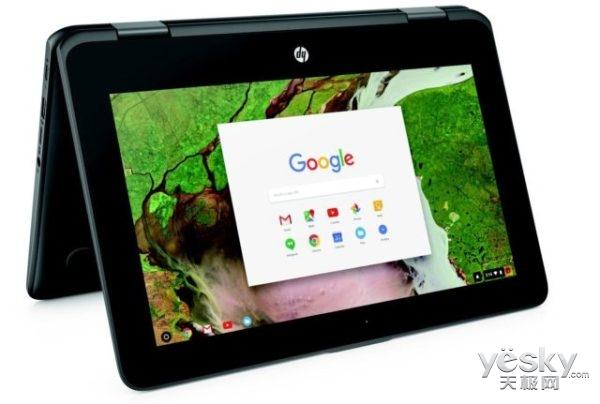惠普Chromebook x360终于上市:299美元