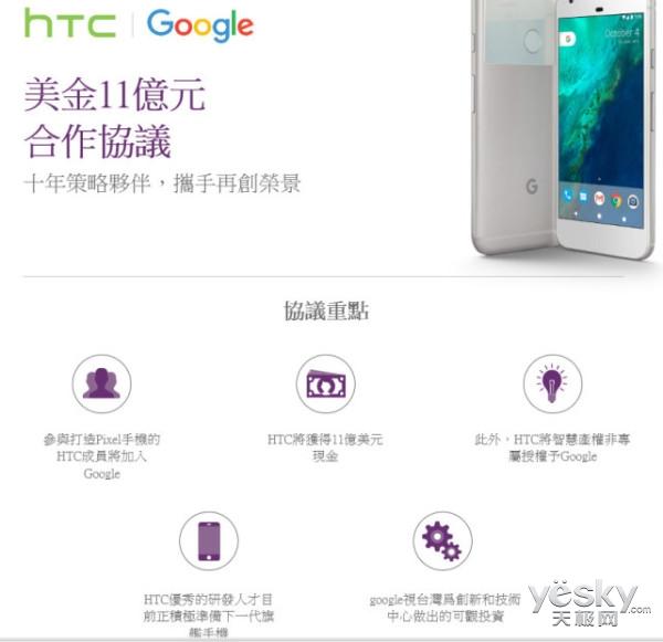 官方宣布:HTC原Pixel手机团队并入谷歌谷歌