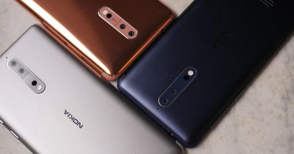 Nokia 8 6GB+128GB版10月20日登陆德国