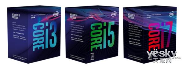 帧率提升25% 第八代酷睿台式机处理器发布