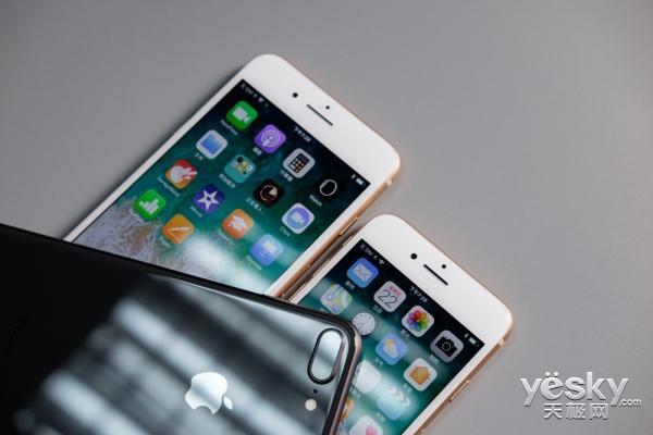 果粉立地封王 iPhone8新机第一图评