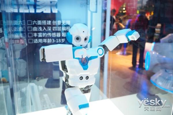 创造无限可能,能力风暴教育机器人新品上市