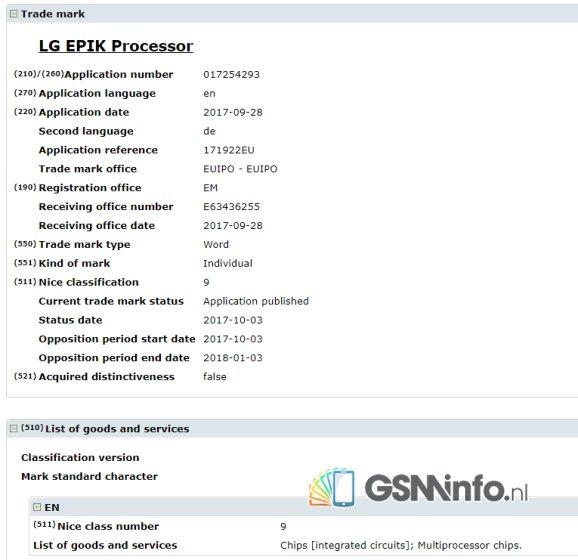 商标文件暗示LG正在设计两款自主芯片
