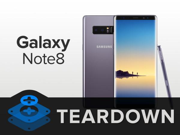 Galaxy Note 8拆解:三星真旗舰!
