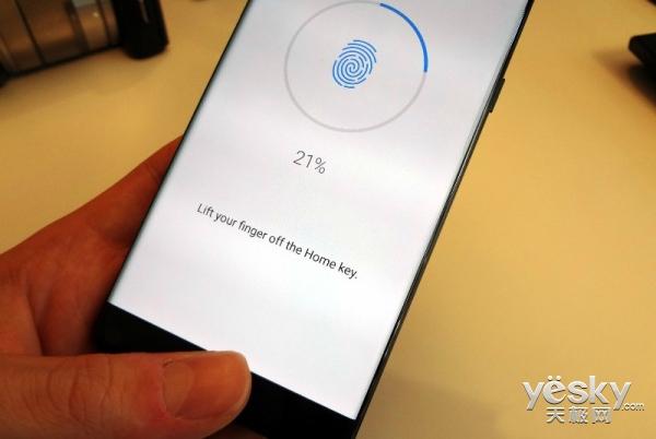 三星Galaxy Note9将配备屏下指纹识别