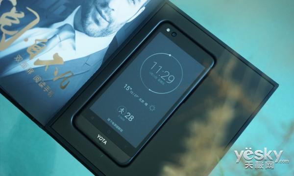 一面海水一面火焰 YOTA3双面屏手机体验评测