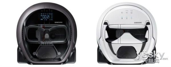 致敬 三星推出星球大战限量版机器人吸尘器