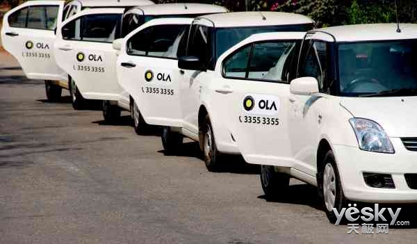 Uber快哭了 腾讯领投印度打车应用Ola