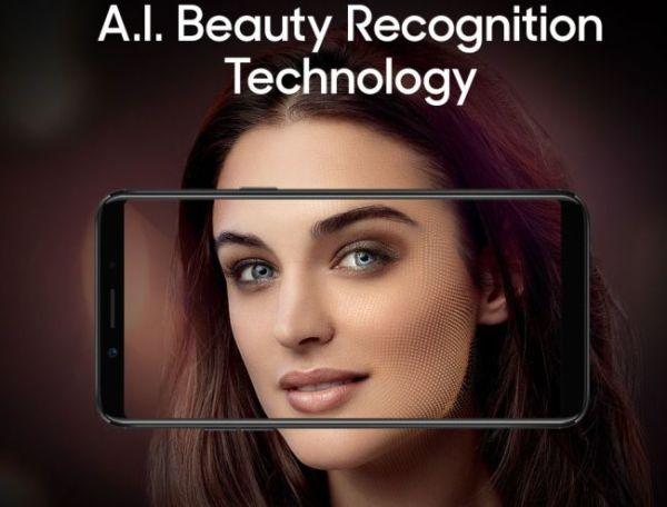 OPPO全面屏新机F5首发市场公布 支持AI美颜