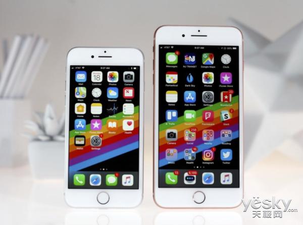 iPhone 8销量增加 但更多用户选择iPhone 7